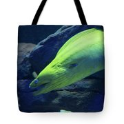 Green Moray Eel Tote Bag