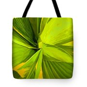 Green Mosaic Tote Bag