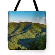 Green Mountainside Tote Bag