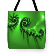 Green Mystery Tote Bag