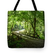 Green Nature Bridge Tote Bag