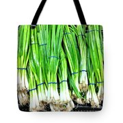 Green Onions Tote Bag