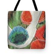 Green Orange Abstract 1  Tote Bag
