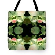 Green Orchid Meeting Tote Bag