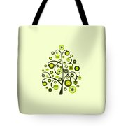 Green Ornaments Tote Bag