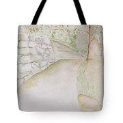 Green Path Tote Bag