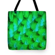 Green Pattern Abstract Tote Bag