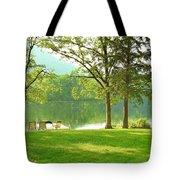 Green Peace Tote Bag
