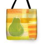 Green Pear- Art By Linda Woods Tote Bag
