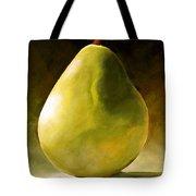 Green Pear Tote Bag