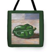 Green Pepper Tote Bag