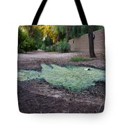 Green Puddle Tote Bag