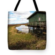 Green Pump House Tote Bag