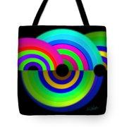 Green Rainbow Tote Bag