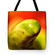 Green Red Liquid Clay Tote Bag