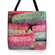Green Red Sugary Sweet Tote Bag