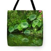 Green Reflection Tote Bag
