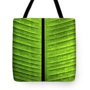 Green Ribs Tote Bag