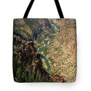 Green River Carving Canyon Tote Bag