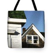 Green Roof Stonington Deer Isle Maine Coast Tote Bag