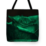 Green Rose Tote Bag