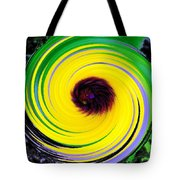 Green Rush Tote Bag