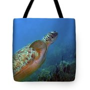 Green Sea Turtle 4 Tote Bag