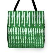 Green Shibori 1- Art By Linda Woods Tote Bag