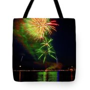 Green Sky Tote Bag