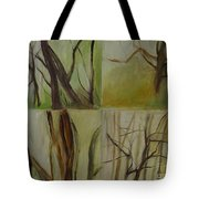 Green Sonnet Tote Bag
