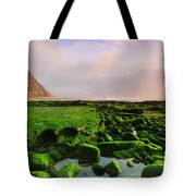 Green Soul Of The Cliff Tote Bag