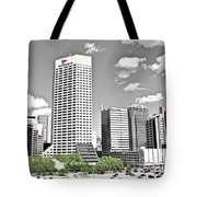 Green Space In Indy Tote Bag