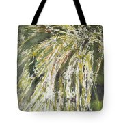 Green Reeds Tote Bag