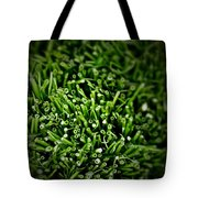 Green Stalks Tote Bag