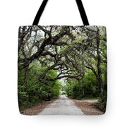 Green Swamp Tunnel Tote Bag