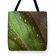 Green Ti Leaves Tote Bag