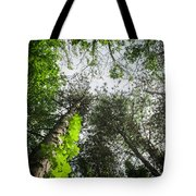 Green To The Sky Tote Bag