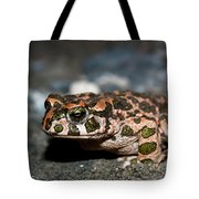 Green Toad Tote Bag