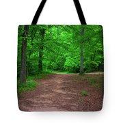 Green Trail Tote Bag