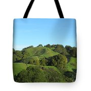 Green Trail Tote Bag