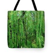 Green Tree View. Tote Bag