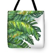 Green Tropic  Tote Bag