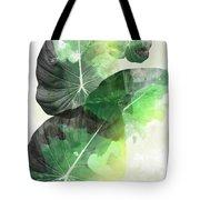 Green Tropical Tote Bag
