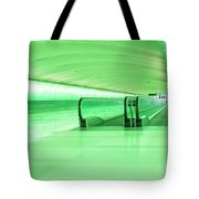 Green Tunnel Tote Bag