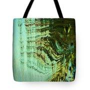 Green Water Tote Bag