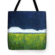 Green Wheat Field Tote Bag
