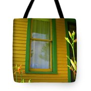 Green Window Tote Bag