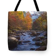 Greenbriar Creek Tote Bag by Photography by Laura Lee