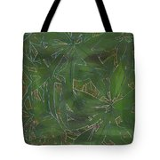 Greenery In Green Tote Bag