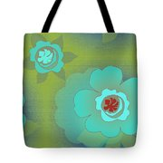 Greenfloral Tote Bag